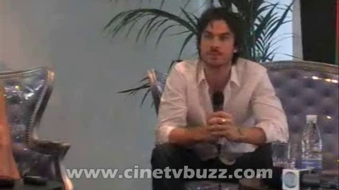 The Vampire Diaries - Interview de Nina Dobrev, Ian Somerhalder et Paul ...